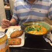Udon thịt heo chiên soup miso Tan Tan