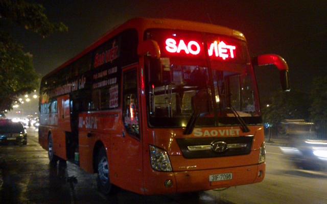 Xe Khách Sao Việt - Bến Xe Giáp Bát