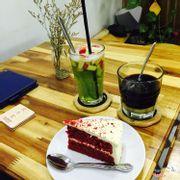 Drink & cake