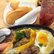 Bò Mỹ + pate, trứng opla & sốt