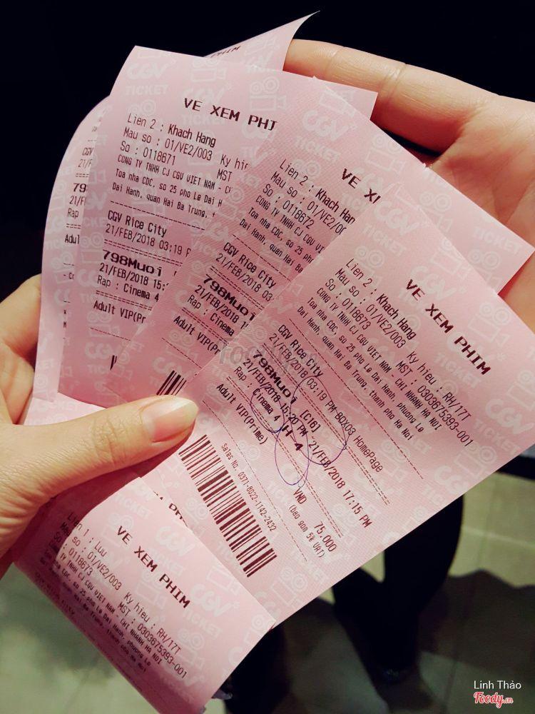 CGV Cinemas - Rice City Linh Đàm ở Hà Nội