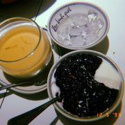 Sữa chua nếp cẩm & tào phớ : ngonnn,ăn rất vừa miệng🤤