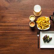 Vẹm hấp & khoai tây chiên Bỉ