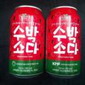 Nước soda vị dưa hấu 350ml