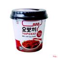 Bánh gạo Topokki vị cay ngọt Yopokki - hộp 140g
