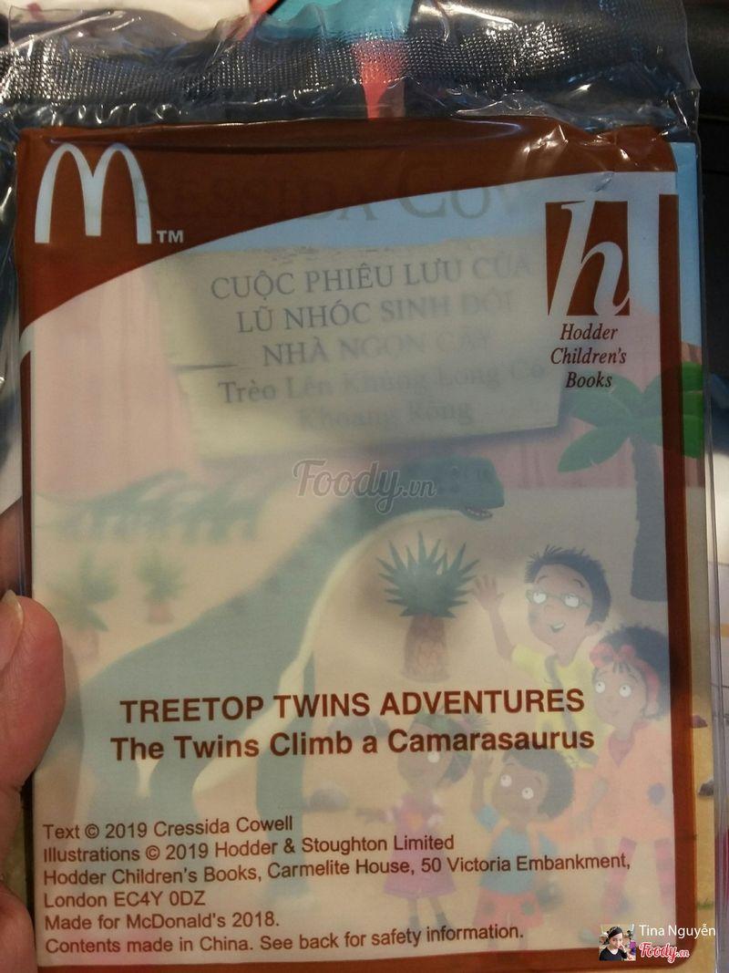 Sách tặng kèm trong phần ăn Kid Meal ( Happy Meal ) 65k