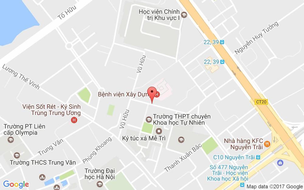 Vị trí bản đồ 108A1 Nguyễn Quý Đức Quận Thanh Xuân Hà Nội