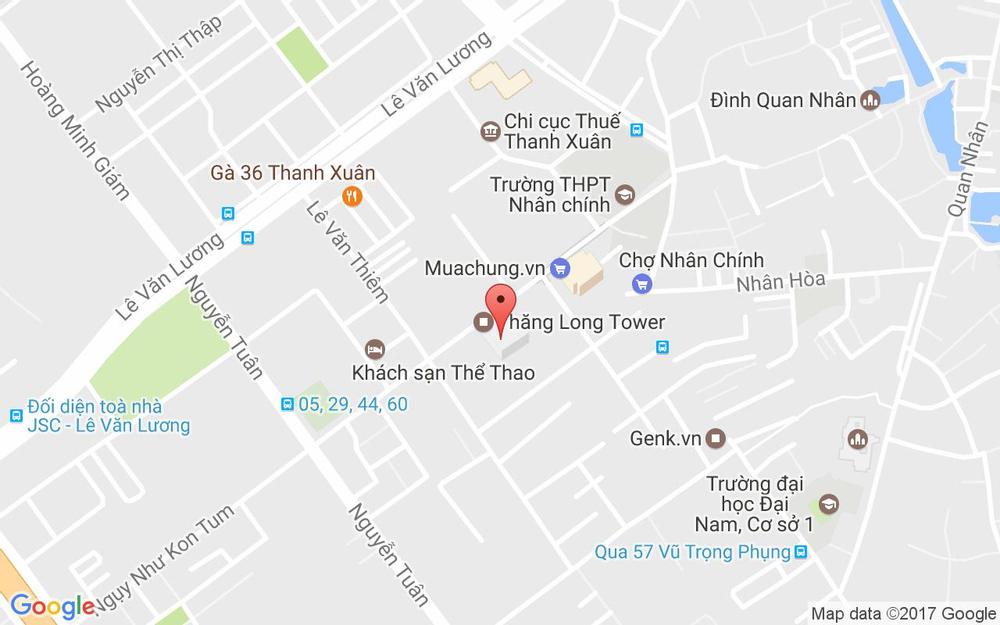 Vị trí bản đồ Kiot 3, 98 Ngụy Như Kon Tum Quận Thanh Xuân Hà Nội