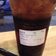 Hồng trà trân châu