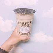 Hồng trà sữa M ( + double white pearl )