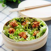 Cơm nắm salad