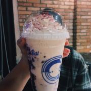 Blueberry cheese đá xay