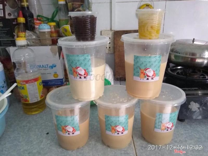 Trân châu cacao,trân châu mì sợi,olong sữa,trà sữa đào,trà sữa.