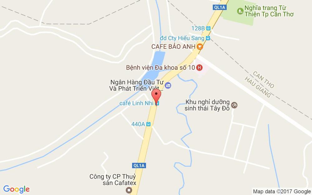 Vị trí bản đồ 71 Quốc Lộ 1A, Xã Tân Phú Thạnh Châu Thành A Hậu Giang