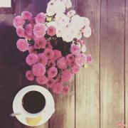 Cà phê đen nóng.