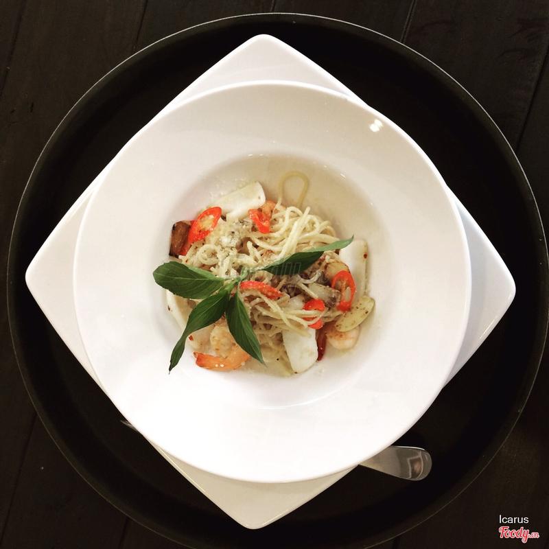 Mỳ Ý hải sản.