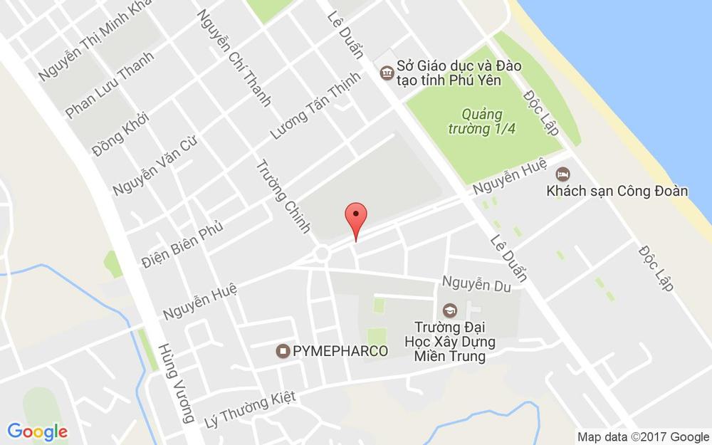 Vị trí bản đồ Nhiệt Đới Hotel ở Phú Yên