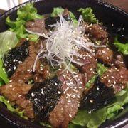 Cơm thịt bò nướng
