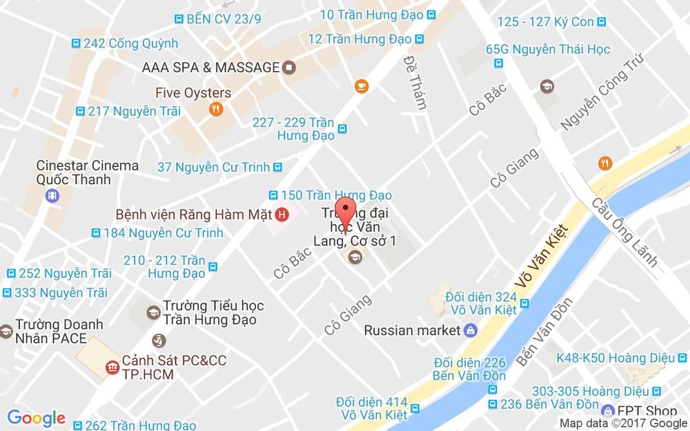 Vị trí bản đồ 53/2 Nguyễn Khắc Nhu Quận 1 TP. HCM