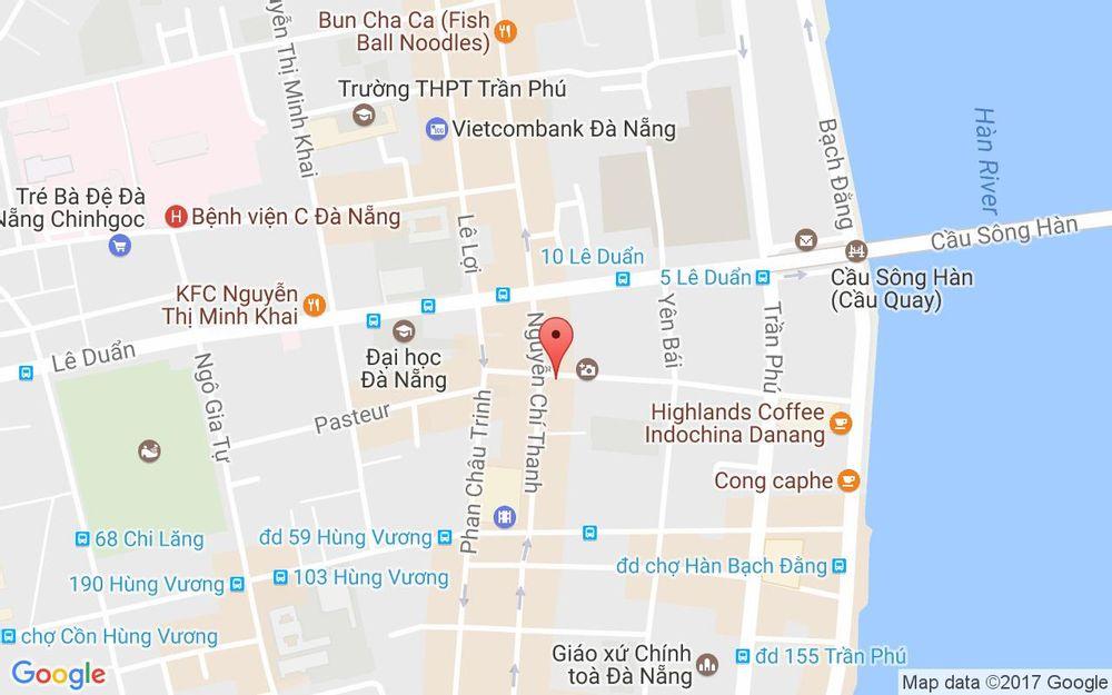 Vị trí bản đồ Sapphire Billiards Club - Phan Đình Phùng ở Đà Nẵng