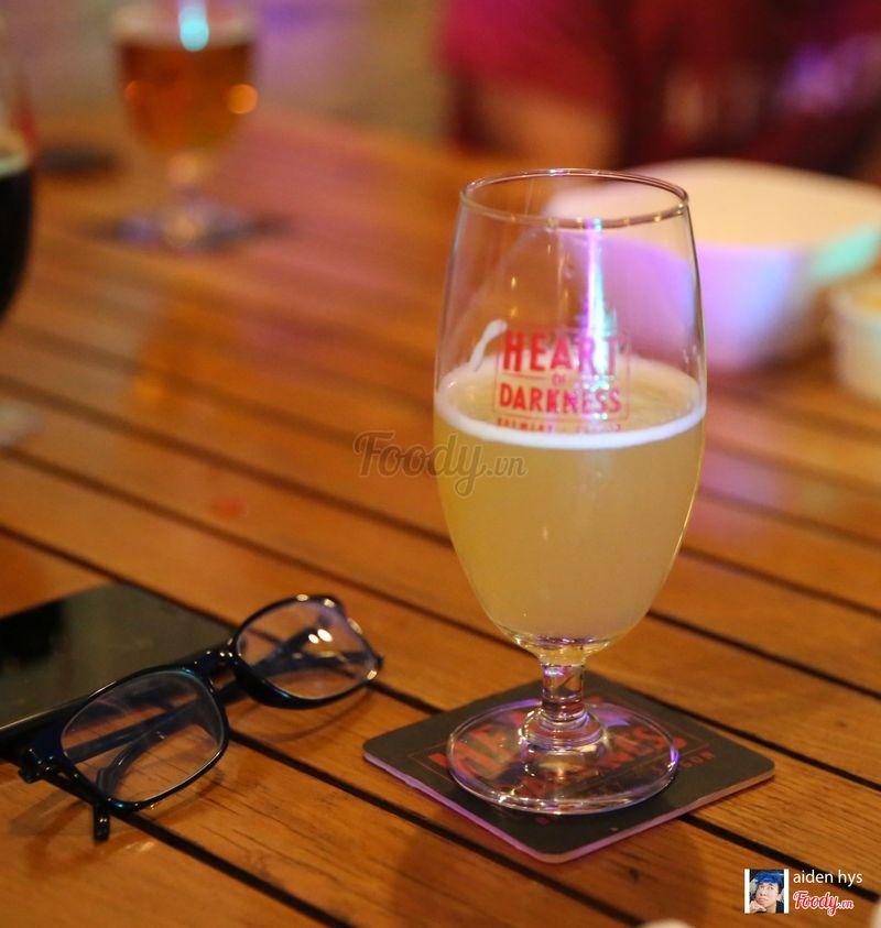 Lu bia lạnh ngắt như crush của tui. 1 ly là tới nóc