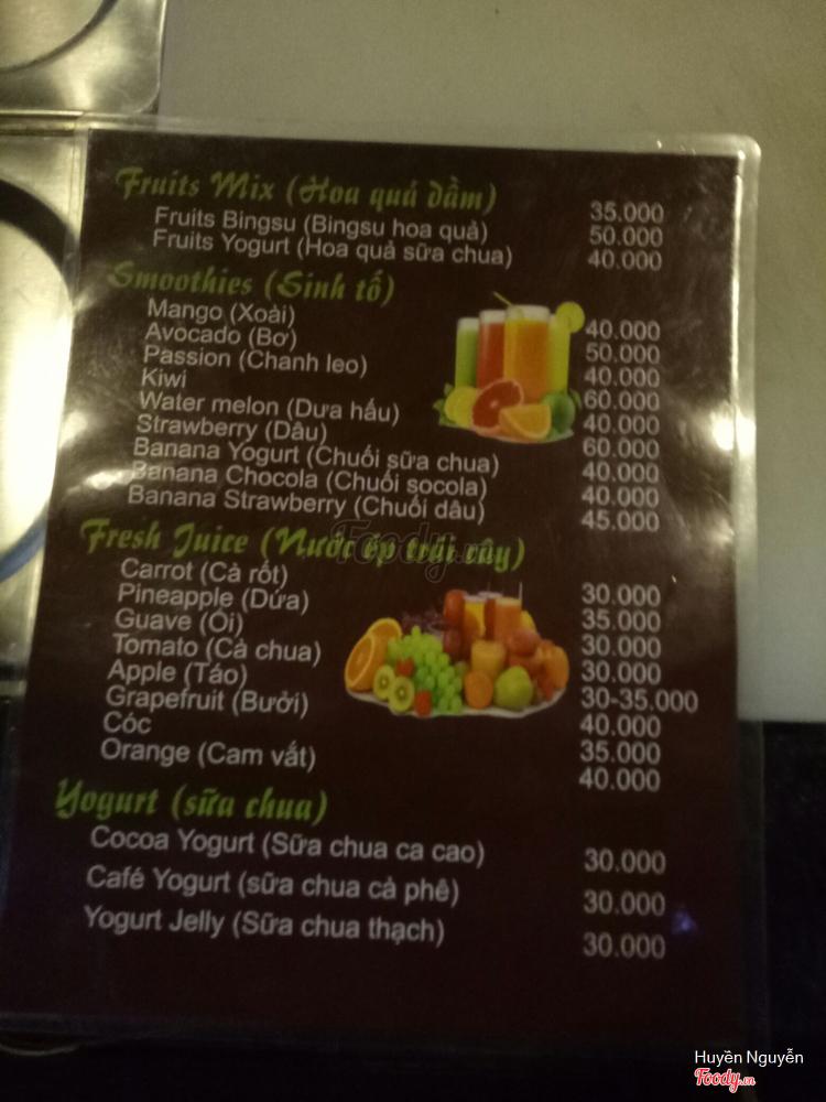 Fruit Star - Sinh Tố & Hoa Quả Dầm ở Hà Nội