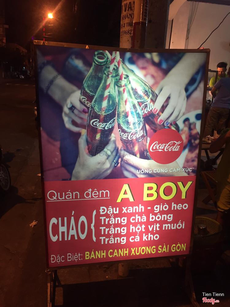 Quán Đêm A Boy - Xôi & Cháo ở Khánh Hoà