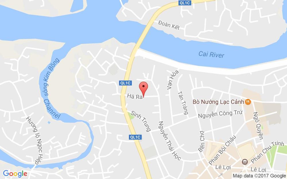 Vị trí bản đồ 17B Hà Ra, P. Vạn Thạnh Tp. Nha Trang Khánh Hoà