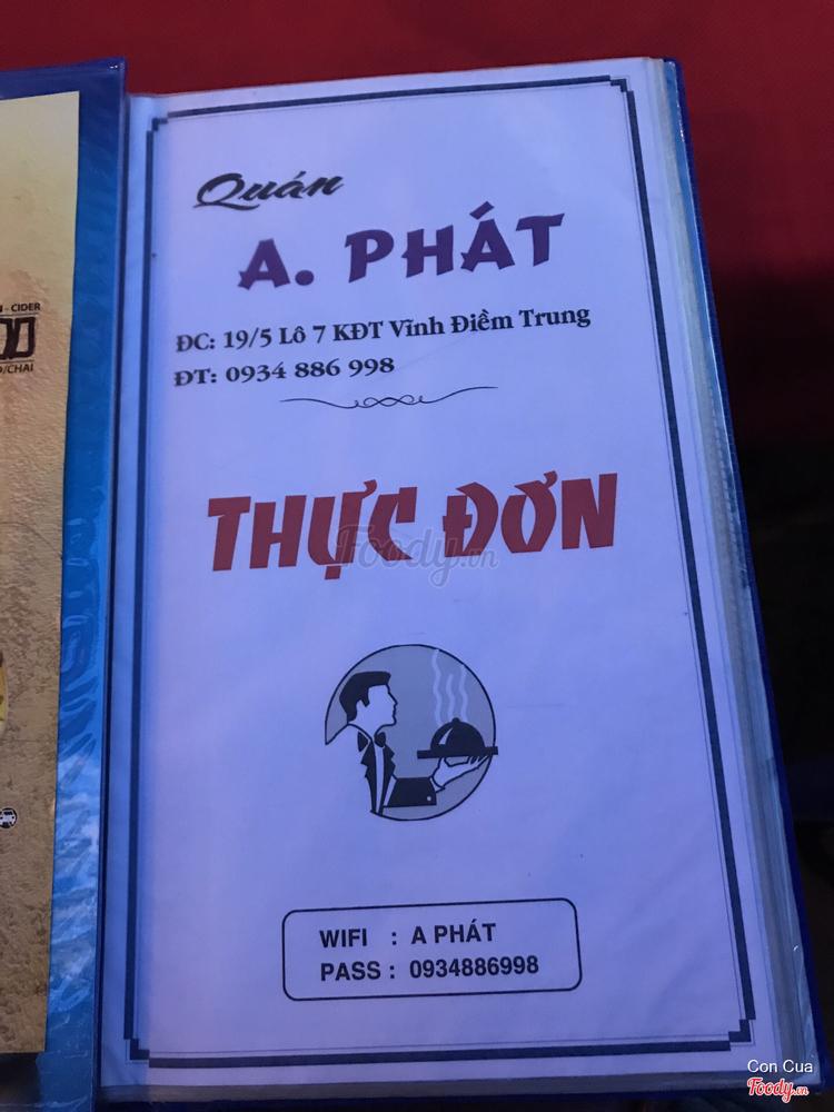 Quán A Phát - Gà & Heo Sữa Quay ở Khánh Hoà