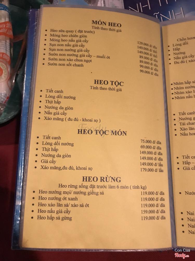 Nhà Hàng Rừng Xanh ở Khánh Hoà
