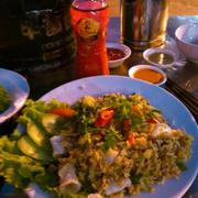 Cơm chiên hải sản  #drthanhmonquasuckhoe
