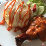 Cơm gà cà ri ý 👍👍👍
