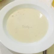Súp kem gà xé