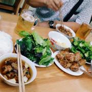 Bún chả Hà Nội & Nem hải sản