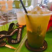 mình bị ghiền mỗi trà xanh kiwi, ngày nào cũng nạp 1 ly, nhân viên đáng yêu nữa :))))))