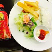 Cá hồi nướng và khoai sốt phô mai #drthanhmonquasuckhoe