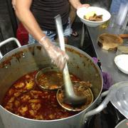 A yummy simmering pot of bò kho