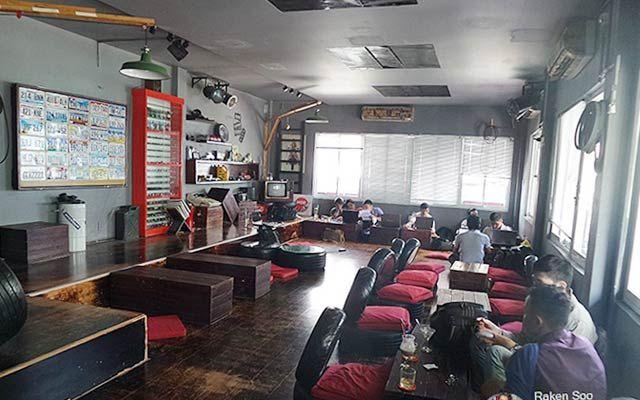 Wheel House Cafe - Trần Huy Liệu