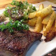 steak bò nướng đá