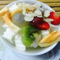Chè khúc bạch phô mai trái cây