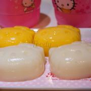 pudding phô mai và trứng cá