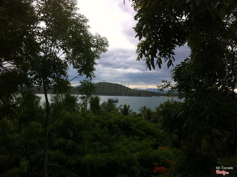 View nhìn từ phòng ngủ