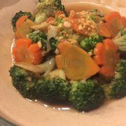 Bông cải xào