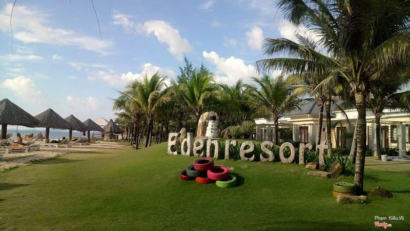 Phía sau Eden, khu vực gần bãi biển