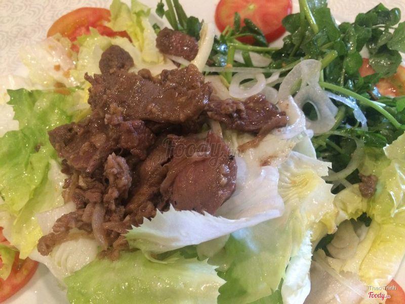 Salad trộn bò