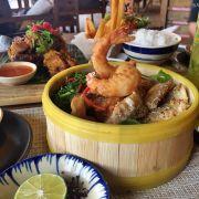 """Ăn tối ở """"On the rocks"""" - Crisy seafood"""