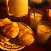 Bánh và sữa đậu nành