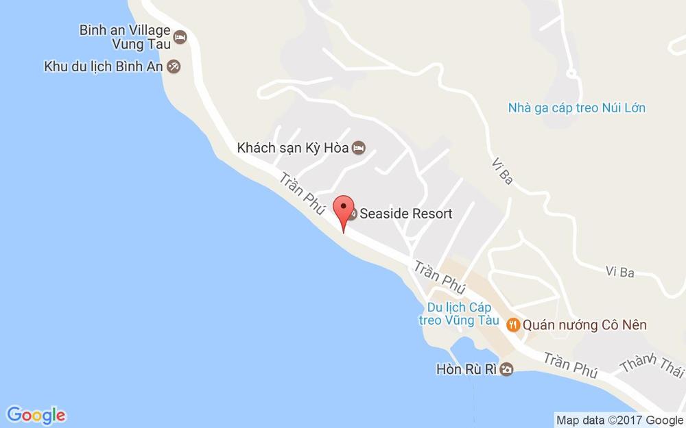 Vị trí bản đồ Khu Nghỉ Dưỡng Bình Minh - Vũng Tàu ở Vũng Tàu