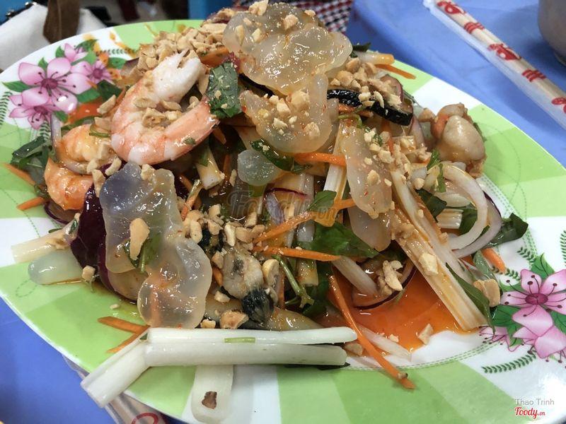 Gỏi sứa tôm