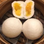 Bánh bao sữa trứng muối thần thánh.